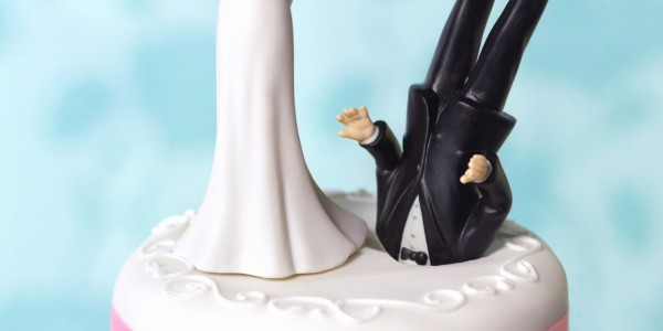custom wedding cake toppers Awesome Wedding Cake Toppers Funny Custom O FUNNY DIVORCE